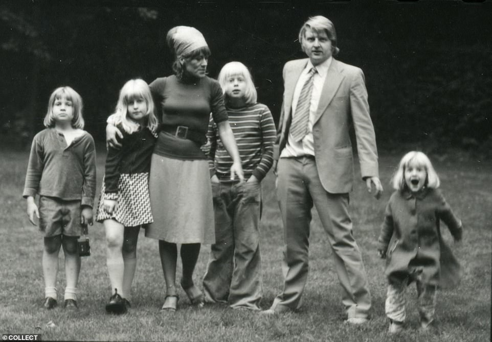 Boris's dad broke his mum's nose: Explosive new biography lifts the lid on PM's affairs