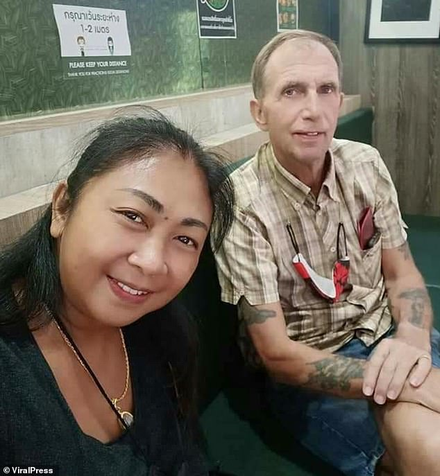 British expat, 62, found dead in a Thai forest after girlfriend, 43, claims he 'ran away'