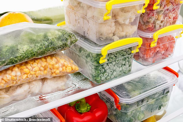 Britons are keeping frozen food from FIVE years ago stored in ice boxes, report reveals