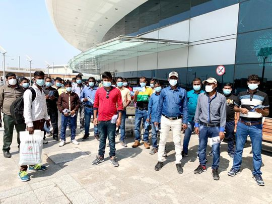 COVID-19: 49 Indian carpenters stranded for months repatriated from UAE