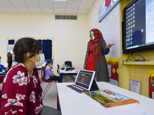 COVID-19: UAE students and educators discuss how it feels to be back, a month into the new term