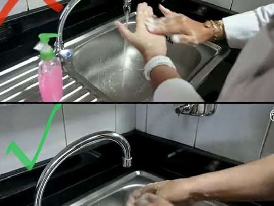 COVID-19 combat: Handwashing? Yes. But wasting water? No