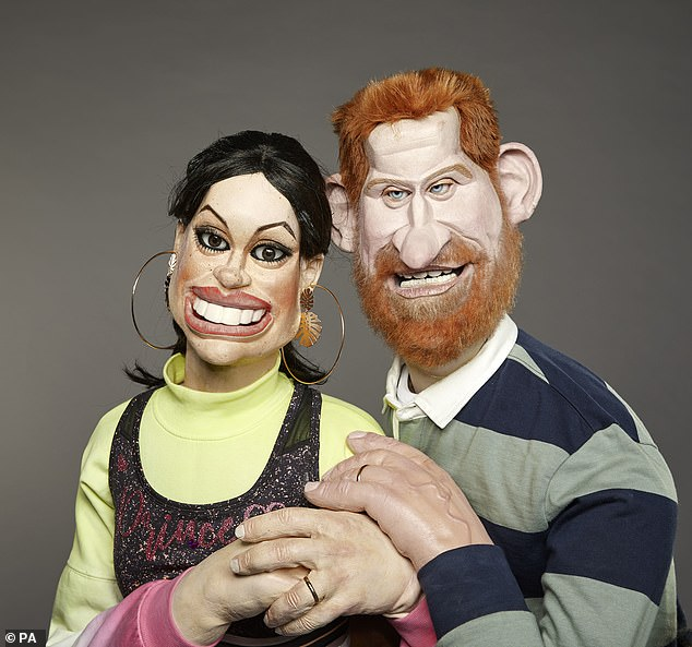 CRAIG BROWN: As Spitting Image puppets return… it's Satireday night lively and dangerous!