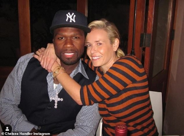 Chelsea Handler calls out 50 Cent for endorsing Donald Trump: 'Used to be my favorite ex-boyfriend'