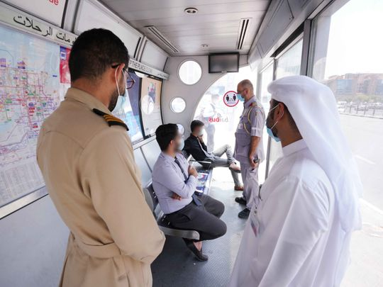 Commuters caught spitting, eating, smoking and sleeping at bus shelters in Dubai