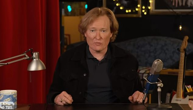 Conan O'Brien reveals his set for late night show was burglarized