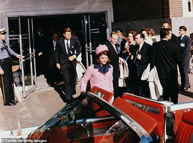 Convertible JFK rode in on the morning of his assassination may fetch up to $500,000 at auction