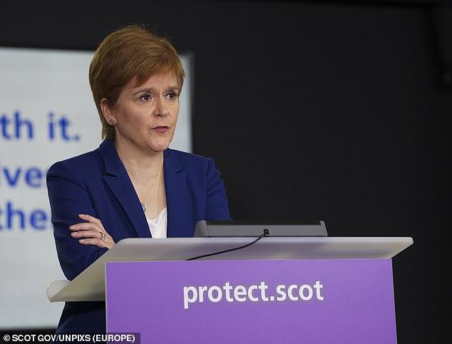 Coronavirus Scotland: Nicola Sturgeon rocked by lockdown backlash