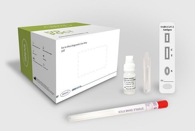 Coronavirus UK: Government secures up to 20m 15-minute test kits