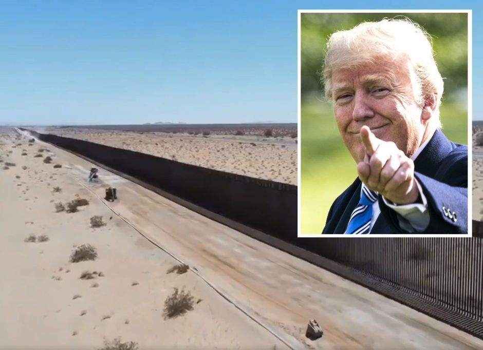 Court Reversed Trump by Halting Border Wall Construction | The NY Journal
