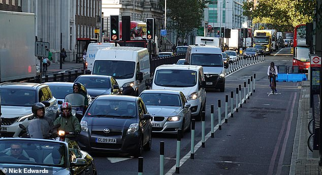 Cycle lanes installed are being ripped out again after paralysing cities and fuelling local uprising