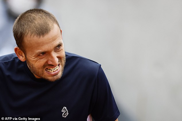 Dan Evans involved in furious row in French Open doubles match after being accused of cheating
