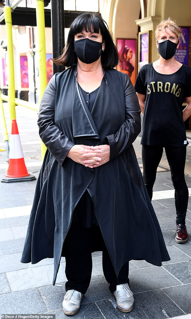 Dawn French, 62, says she has put weight on but 'doesn't give a f**k'