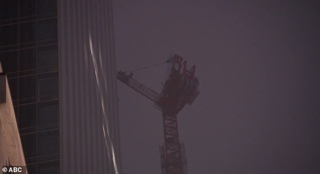 Debris rains down from 85-story Midtown Manhattan skyscraper after crane spins out of control