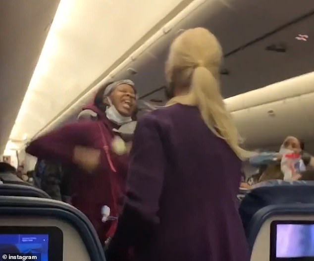 Delta passenger 'who refused to wear her mask correctly' punches flight attendant in the face