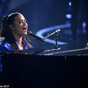 Demi Lovato's message urging fans to vote during her anti-Trump anthem is censored by NBC