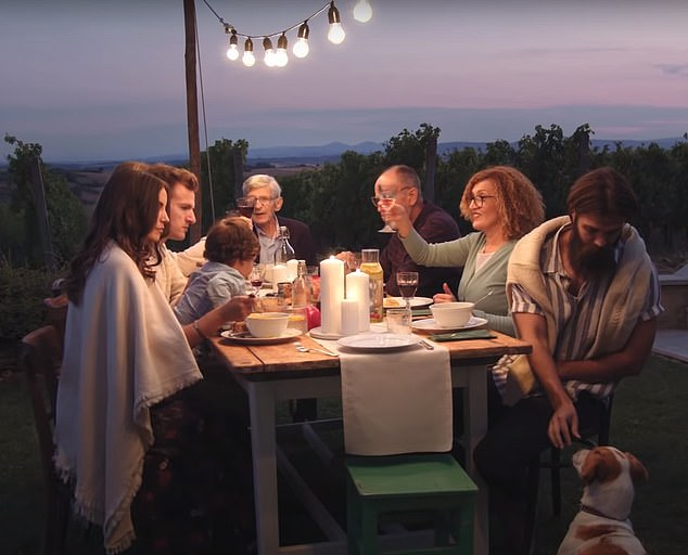 Dettol makes Rule of Six ad blunder after latest commercial features EIGHT people enjoying a meal