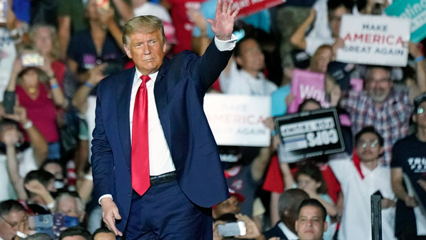 Donald Trump Claims He's 'Immune' To Coronavirus & Vows To Give Everyone At Rallies A 'Big Fat Kiss'