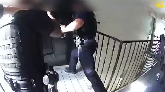 Dramatic moment Florida cops rescue woman who'd been kidnapped by her ex-boyfriend