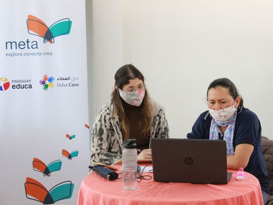 Dubai Cares launches e-platform for teachers in Paraguay