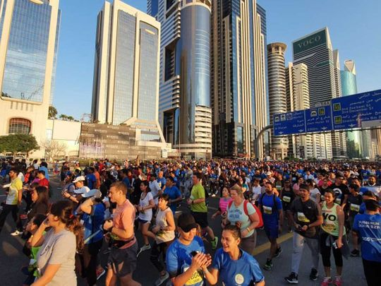 Dubai to turn into a running track to support COVID-19 hit students in UAE