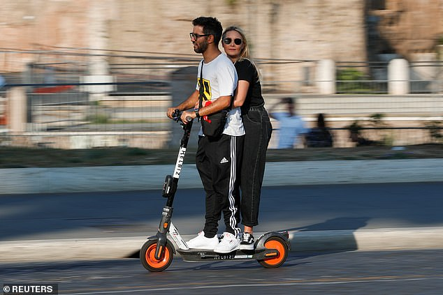 E-scooters that SHUT DOWN when they mount a pavement get approval for use in Britain