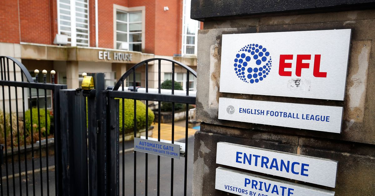 EFL CEO quits role just one day after new Football League proposals announced