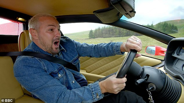 EXC: Paddy McGuinness laughs off his Top Gear car crash as 'a nice moment'