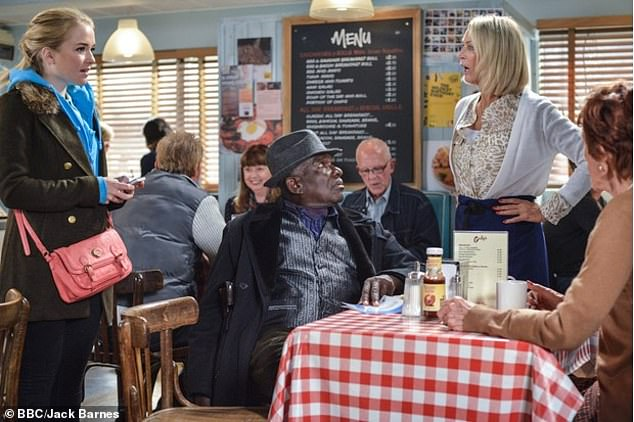 EastEnders' café 'ditches traditional bacon and sausage fry ups for QUORN'
