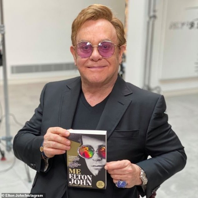 New chapter:Elton John, 73, has reportedly addressed his fallout with Rod Stewart, 75, in a new chapter from his autobiography Me