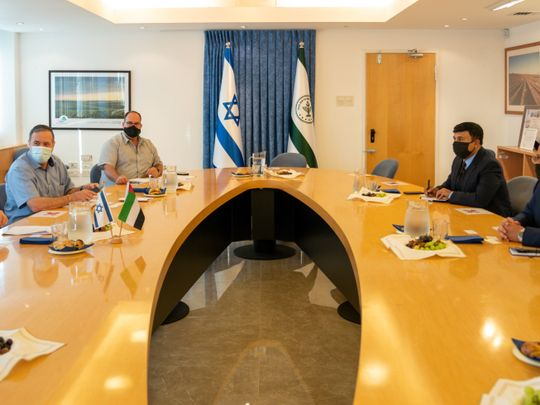 Emirati delegation visits Israel to discuss agricultural, investment cooperation
