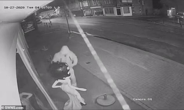 Essex thief makes off with 6ft model of cartoon character Betty Boop