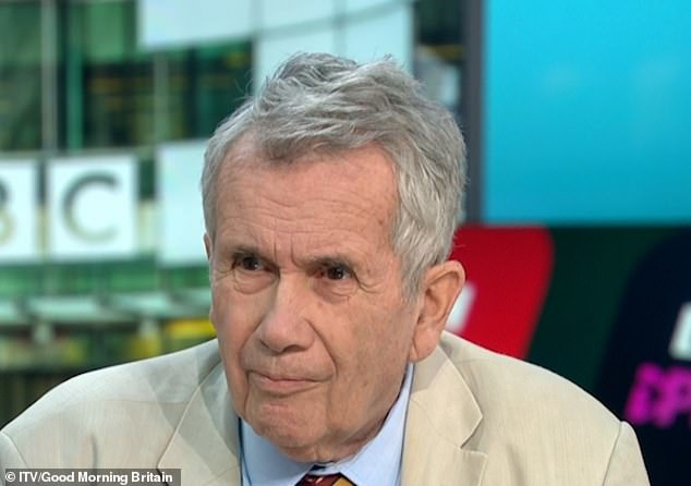 Ex BBC war correspondent Martin Bell reveals he never asked for pay rise in 33 year career