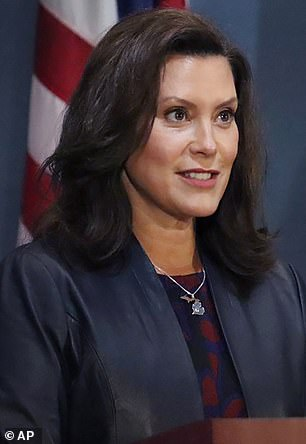 Democratic Governor Gretchen Whitmer was widely criticized for her strict lockdown rules that many said violated the Constitution because it stopped them from being able to work