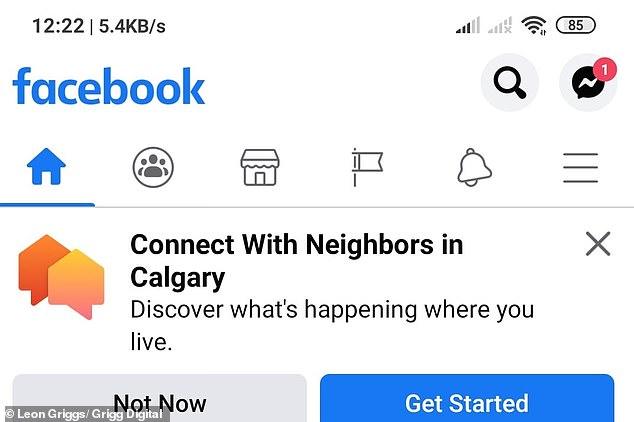 Facebook tests Nextdoor clone 'Neighborhoods' in Calgary, Canada