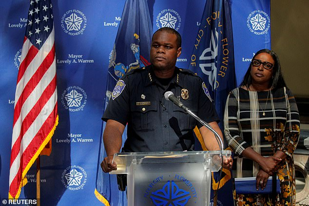 Fired Rochester police chief is 'REFUSING to cooperate' with probe into death of Daniel Prude