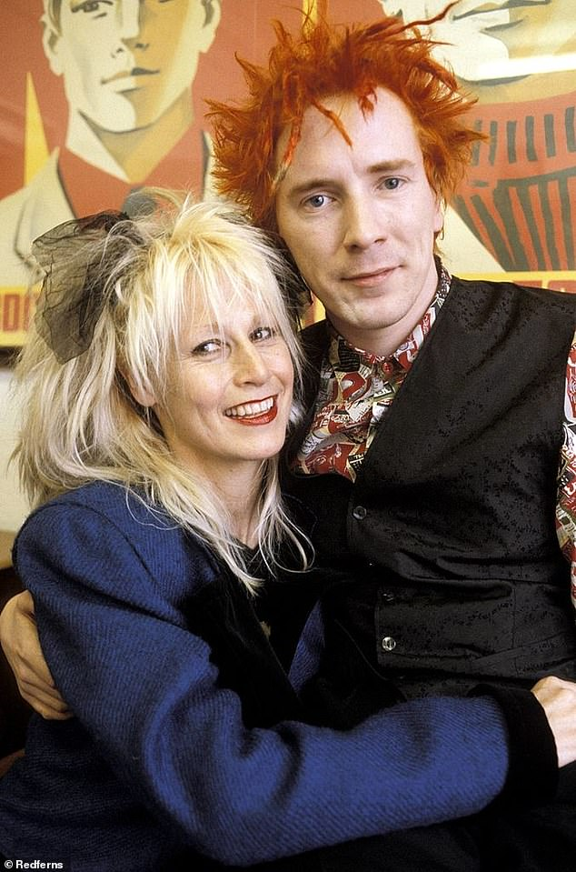 Former Sex Pistol John Lydon tells of his devotion to his wife Nora Forster