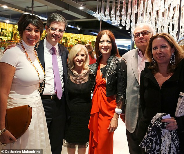 Ghislaine Maxwell is pictured at charity event to stop sex trafficking