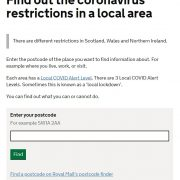 Government releases handy interactive tool showing COVID restrictions in YOUR area