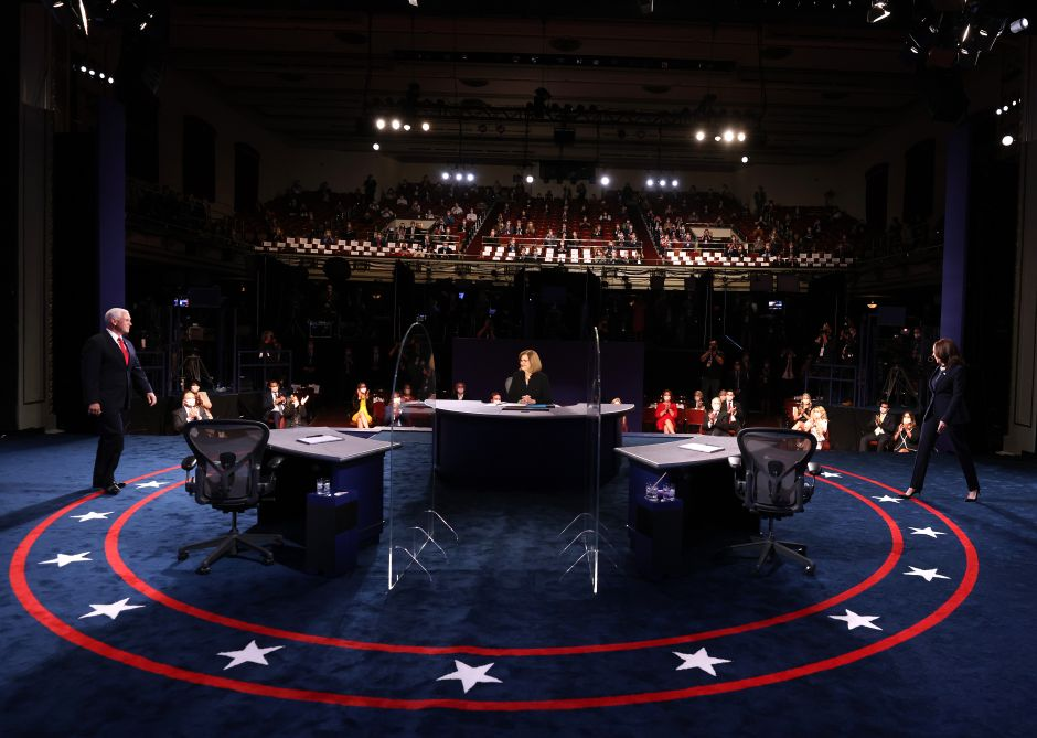 Harris-Pence Vice Presidential Debate Begins With Tight Sanitary And Security Measures | The NY Journal
