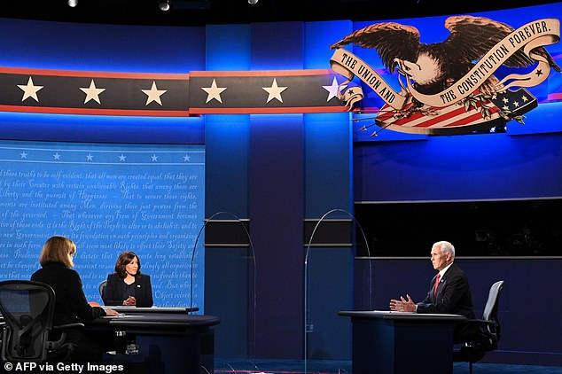 Harris won the debate according to CNN Instant Poll while undecided focus group found her 'abrasive'