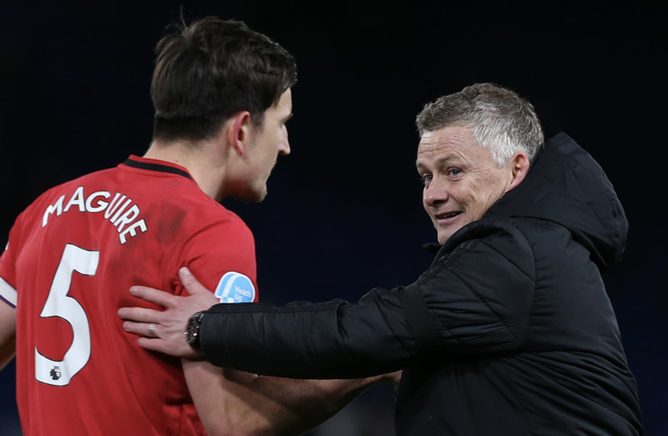 Harry Maguire is an important player for Ole Gunnar Solskjaer at Man Utd