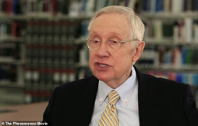 Harry Reid says the government is covering up huge amounts of evidence of UFO encounters