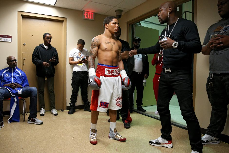 He has an ace up his sleeve: Floyd Mayweather is confident that Gervonta Davis will beat Leo Santa Cruz   The NY Journal