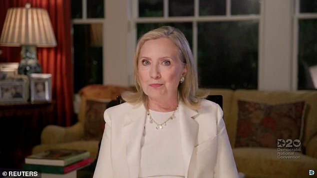 Hillary Clinton says the thought of Trump winning re-election makes her 'physically sick'
