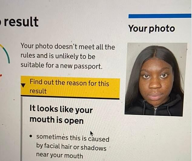 Home Office's facial recognition software 'systemically racist'