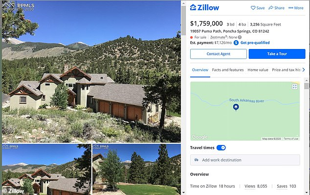 Home of missing Colorado mom Suzanne Morphew is put up for sale
