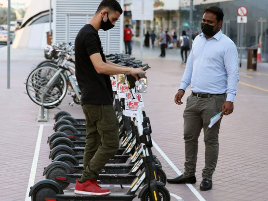 How Dubai commuters can now use e-scooters to or from the Metro