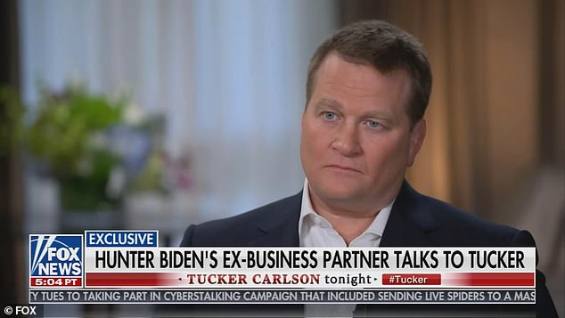 Hunter Biden's former business partner Tony Bobulinski on Fox News