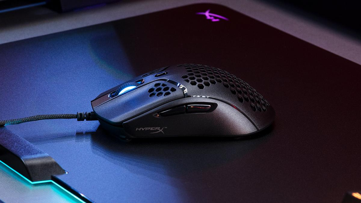HyperX Pulsefire Haste Lightweight Gaming Mouse With RGB Light Launched